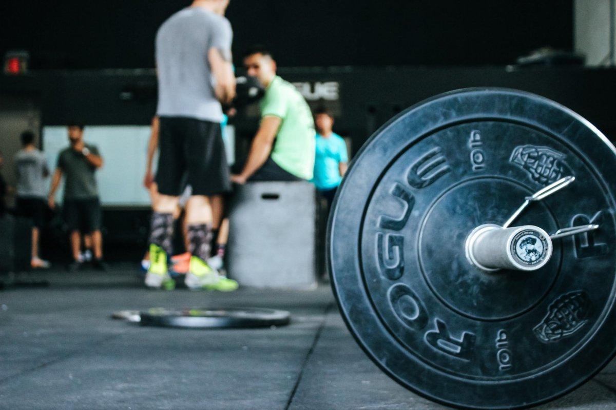 Sport Gym Workout Hanteln